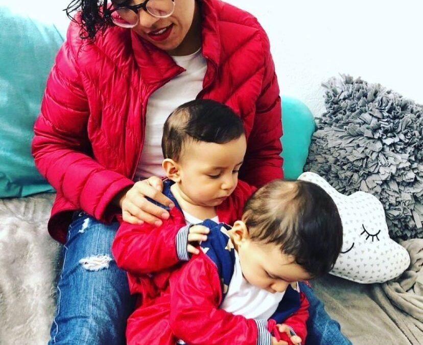 «La dulce historia de una mama de dos»